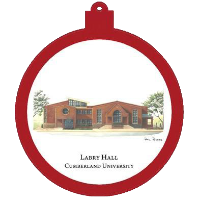 Labry Hall Christmas Ornament- Phil Ponder