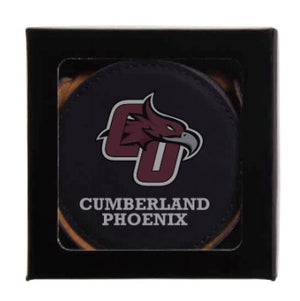 Leatherette Coaster Set