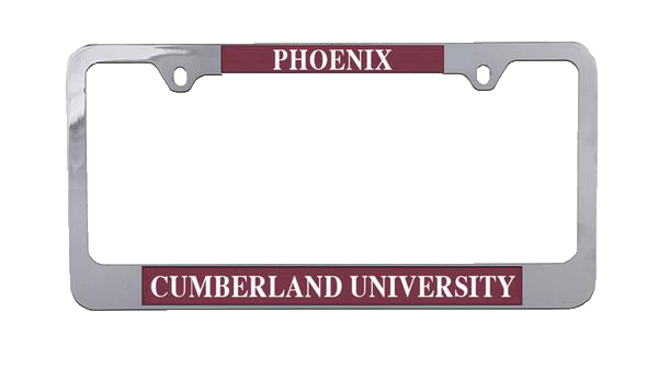 Aluminum License Plate Frame