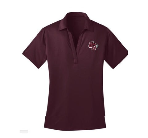 Women's Maroon Polo