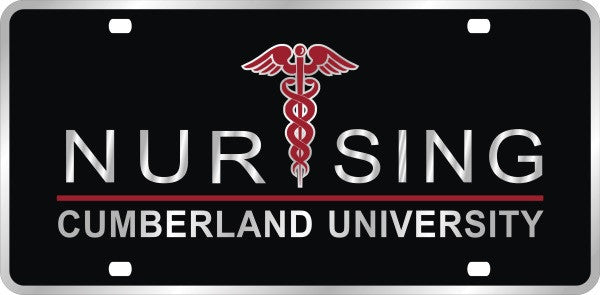 Nursing License Plate