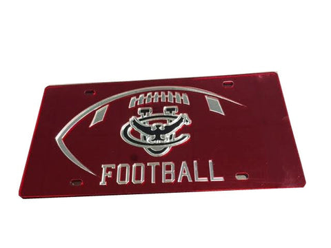 Football License Plate