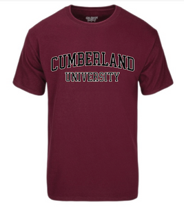 Youth Cumberland Maroon Basic Tee YS-YXL