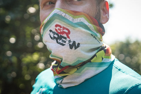 "*CYBER MONDAY* 2018 GINGER RUNNER WRAP - ""GR Crew"" - Limited Edition Gus Fundraiser"
