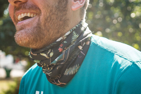 "2018 GINGER RUNNER WRAP - ""Botanical"" - Limited Edition Gus Fundraiser"