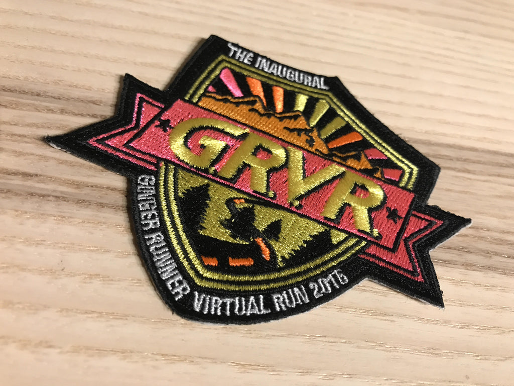 *OVERSTOCK* 2016 GRVR IRON-ON PATCH - Free Shipping