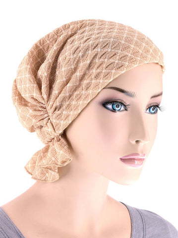 ABBEY-522#The Abbey Cap in Spring Beige