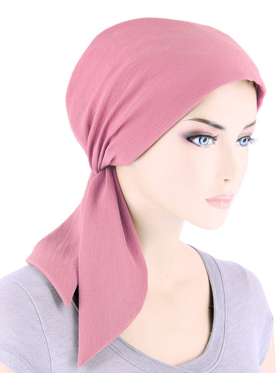 CFS-1159#Chemo Fashion Scarf Rose
