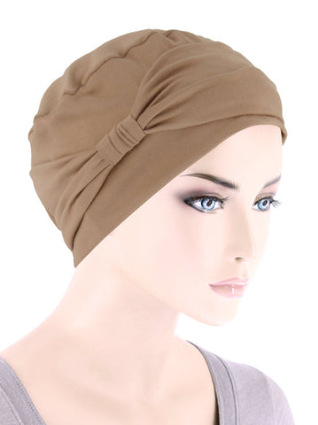 NCCB-MOCHA#Comfort Cap in Buttery Soft Mocha Brown