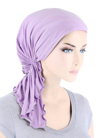 BELLA-BB-784#The Bella Scarf Bamboo Lilac Orchid