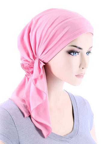 BELLA-731#The Bella Scarf Pink