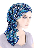 BELLA-760#The Bella Scarf Bali Blue