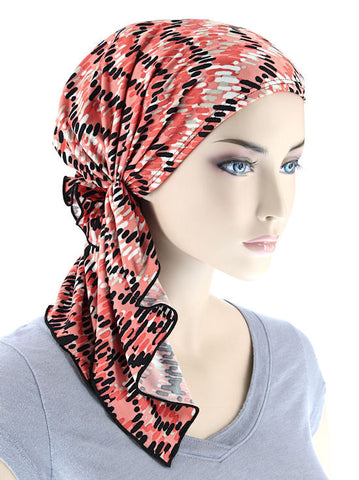 wholesale pink breast cancer hats scarves turban caps