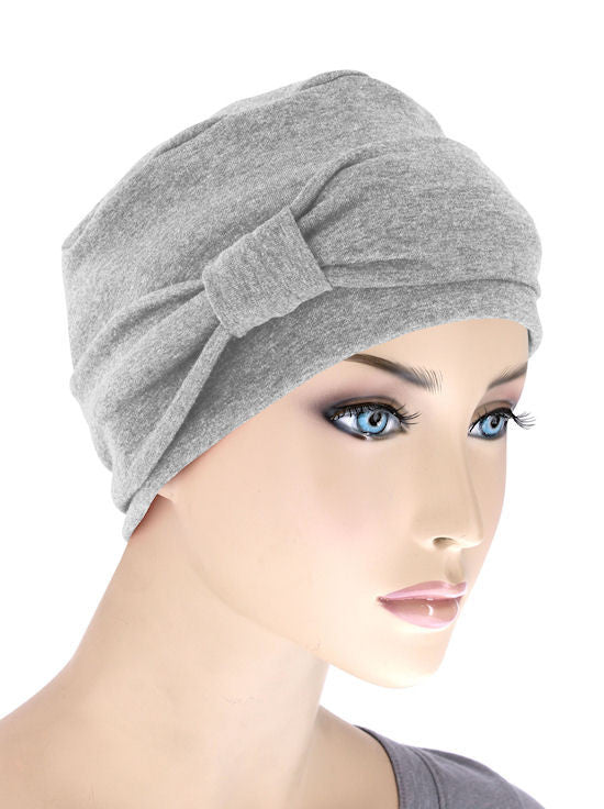 NCC-HEATHERGRAY#Comfort Cap w/Headband in Heather Gray