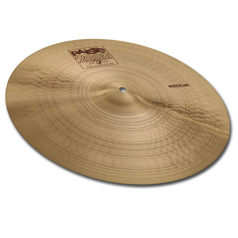 "PAISTE 2002 20"" MEDIUM CRASH CYMBAL"