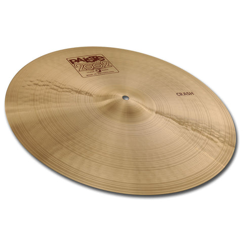 "PAISTE 2002 17"" CRASH CYMBAL"