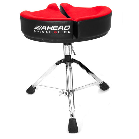AHEAD SPINAL-G DRUM THRONE IN RED    ASPG3-R