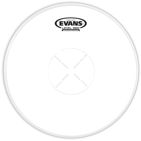 "EVANS 14"" POWER CENTRE SNARE DRUM HEAD    B14G1D"