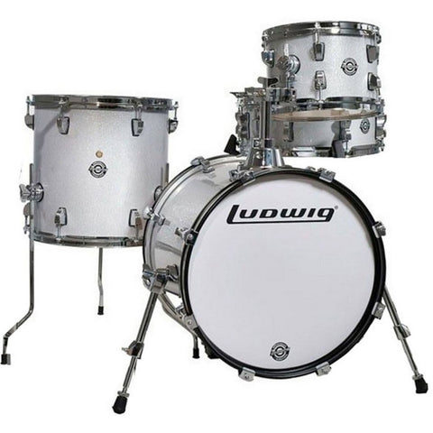Ludwig Breakbeats Street Kit White Sparkle