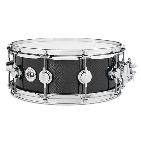"DW DRUMS CARBON FIBRE 14"" X 6.5"" SNARE DRUM"