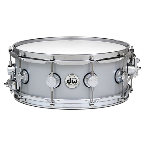 "DRUM WORKSHOP 14"" x 5.5"" THIN ALUMINIUM SNARE DRUM"