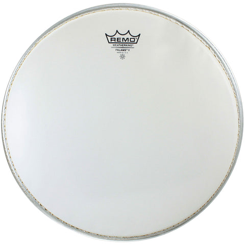 "Remo Falams 14"" Smooth White Marching Drum Head"