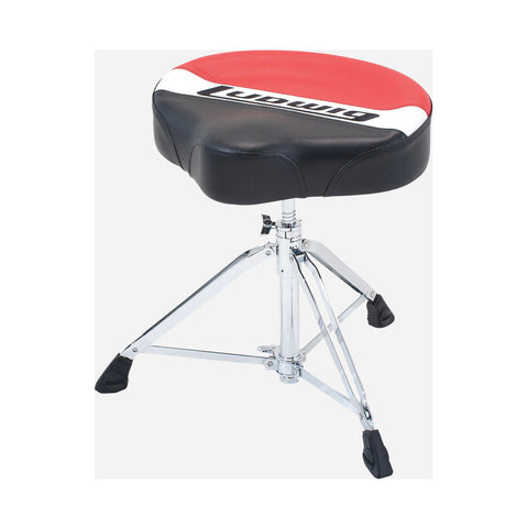 LUDWIG DOUBLE BRACED ATLAS PRO SADDLE THRONE LAP50TH