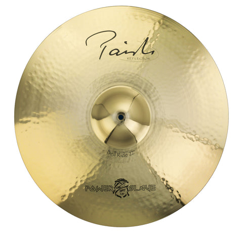 "PAISTE SIGNATURE 22"" REFLECTOR ""POWERSLAVE"" BELL RIDE CYMBAL PSIGNIC22"