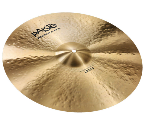 "Paiste Formula 602 Modern Essentials 20"" Crash Cymbal"