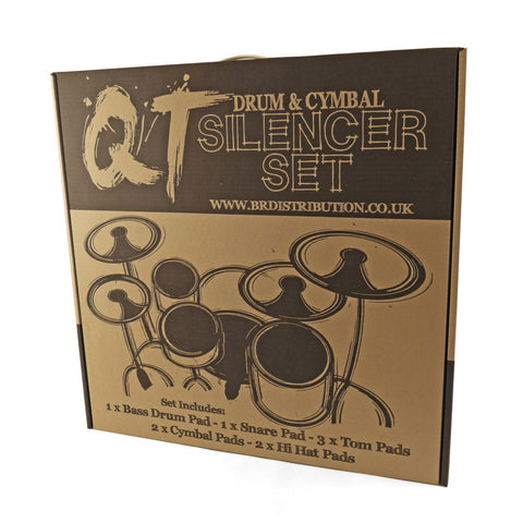 "QT DRUM SILENCER PADS 22"" ROCK SIZE QTR22"
