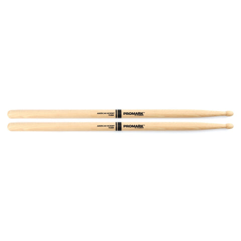 PROMARK 2B HICKORY WOOD TIP DRUMSTICKS    TX2BW