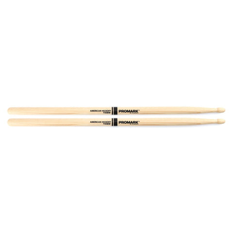PROMARK 5B HICKORY WOOD TIP DRUMSTICKS    TX5BW
