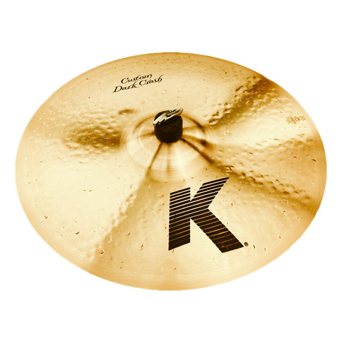 "ZILDJIAN K CUSTOM 16"" DARK CRASH CYMBAL K0951"