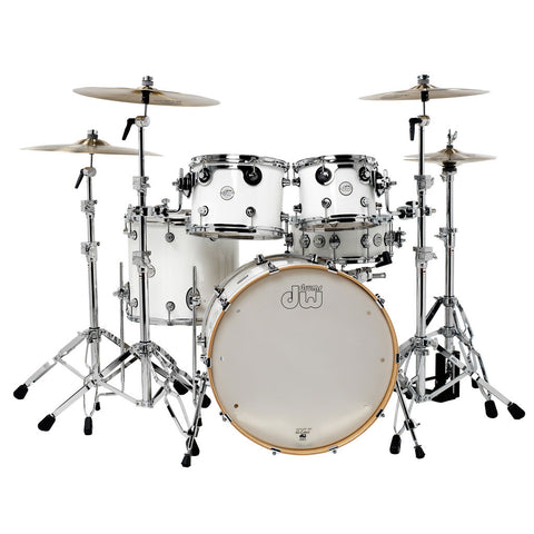 DW Design Series Shell Pack White Gloss Lacquer