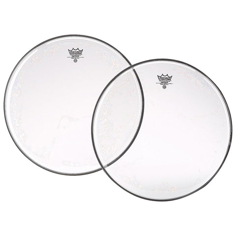 remo clear emperor drum heads