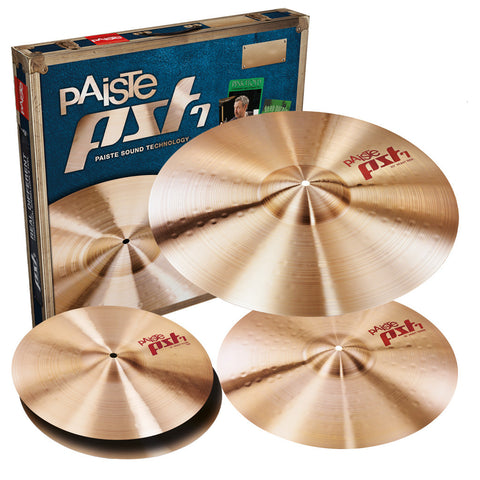 Paiste PST7 Heavy / Rock Cymbal Set