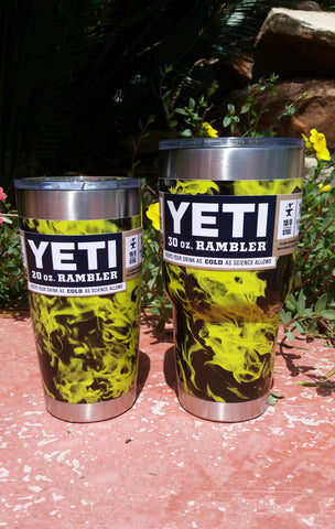 Can-Am inspired _ YETI Rambler Tumbler