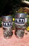 Game Guard Camo _ YETI Rambler Tumbler