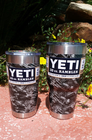 Battle Rifles _ YETI Rambler Tumbler