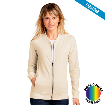 Ladies Lightweight French Terry Bomber