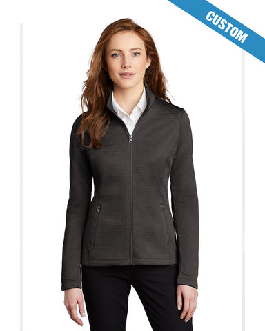Port Authority Ladies Diamond Heather Fleece 1/4-Zip Pullover