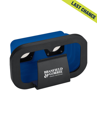 Foldable Virtual Reality Headset/Goggles