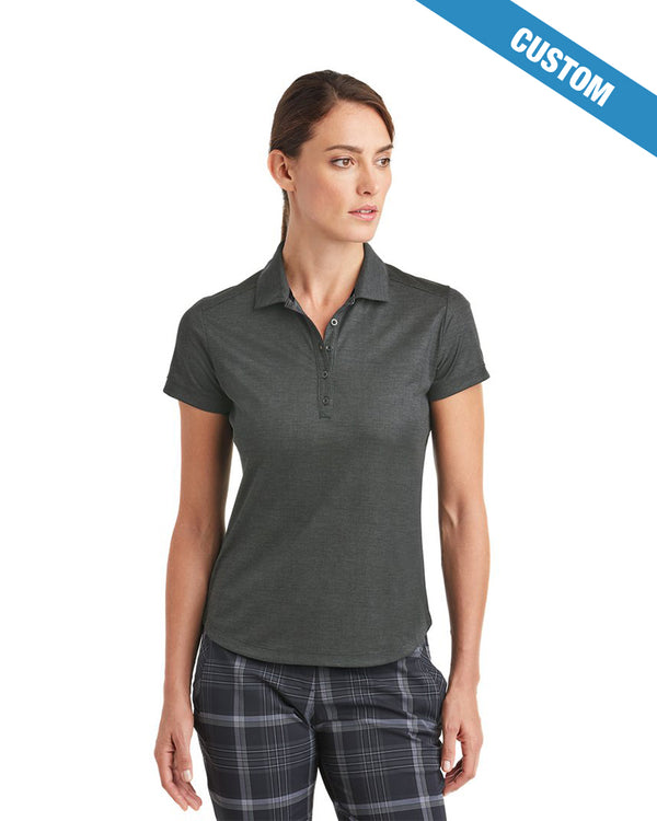 Nike Ladies Dri-FIT Crosshatch Polo