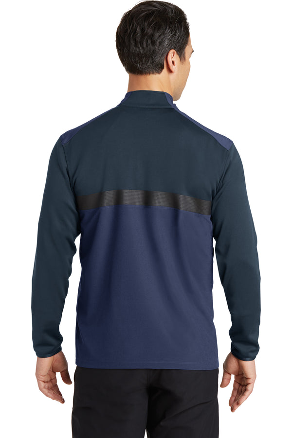 Nike Dri-FIT Fabric Mix 1/2-Zip Cover-Up