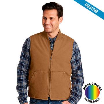 CornerStone Washed Duck Cloth Vest