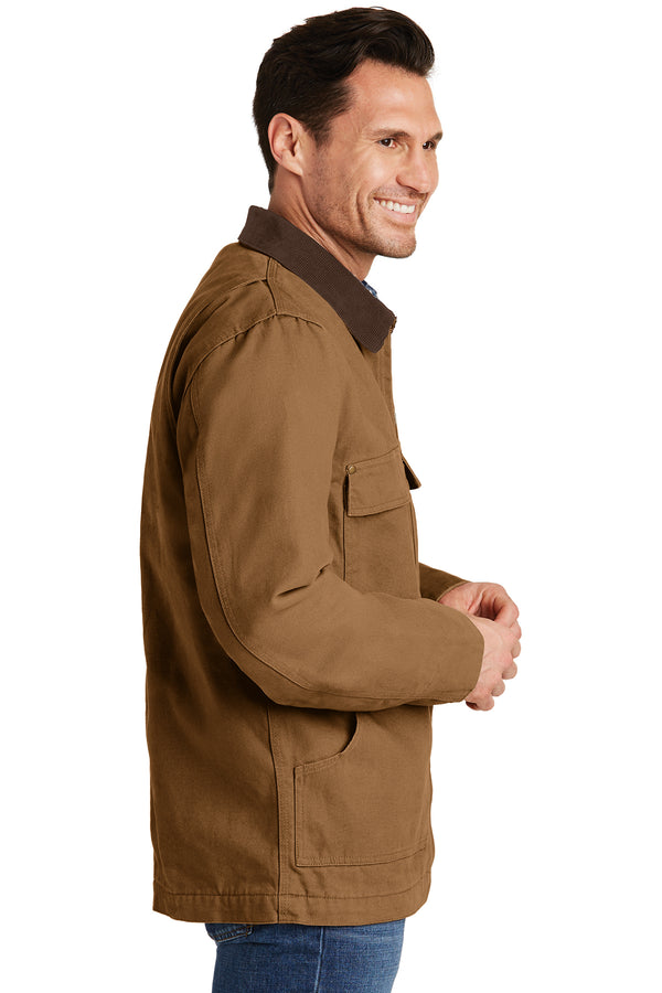 CornerStone Washed Duck Cloth Chore Coat