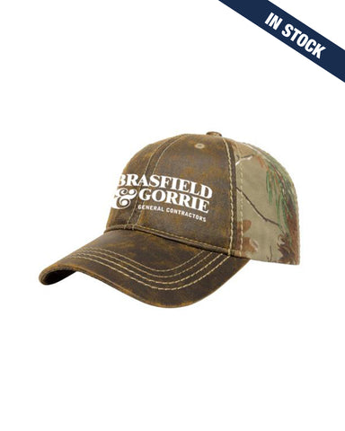 RealTree Faux Leathered Poly/Cotton Camo Hat