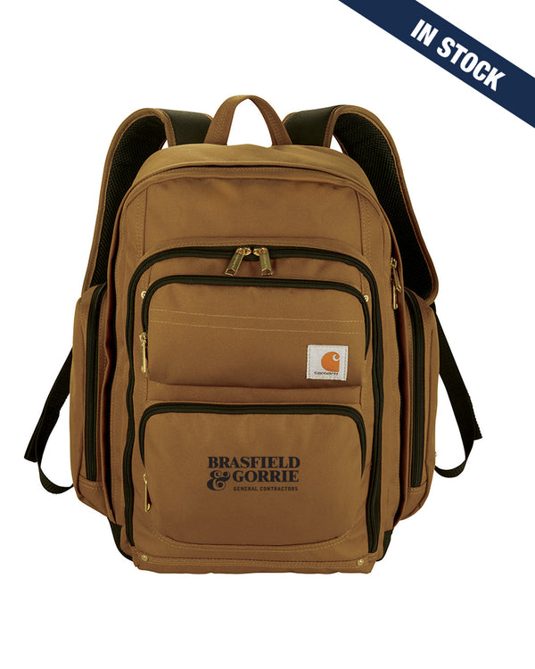 "Carhartt Signature Deluxe 17"" Computer Backpack -  Sold out. Incoming stock due the week of October 5th."
