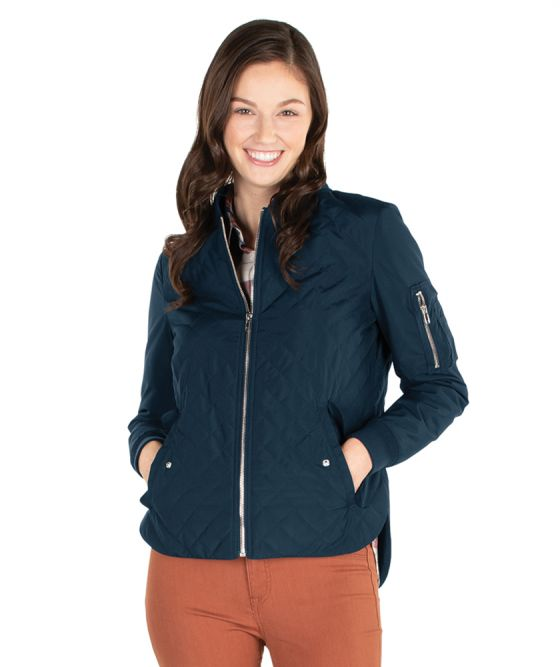 Charles River Women's Quilted Boston Flight Jacket