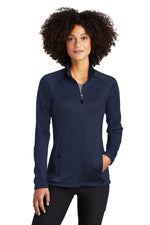 Eddie Bauer Ladies Smooth Fleece Base Layer Full-Zip